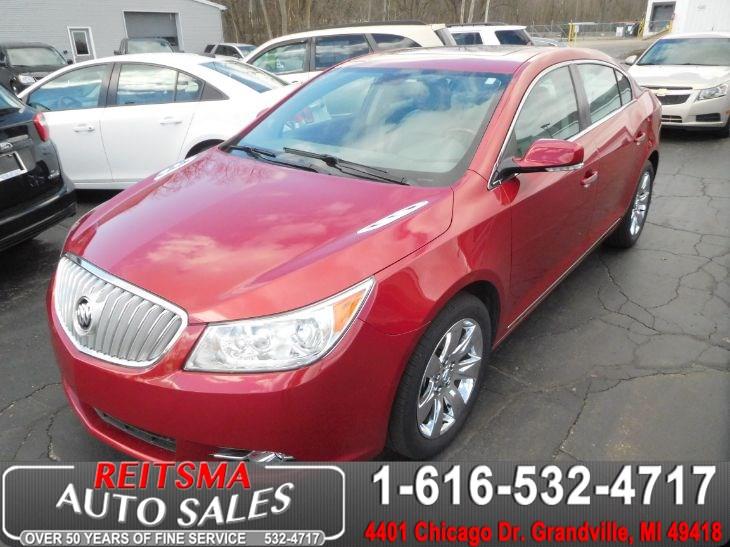 2012 Buick LaCrosse Premium 2 - Reitsma Auto Sales