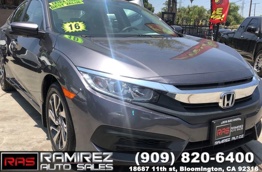 Ramirez Auto Sales >> Used 2016 Honda Civic Sedan For Sale In Bloomington Ca