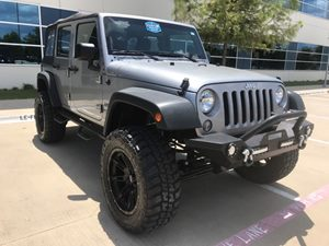 View 2015 Jeep Wrangler Unlimited,CSTOM LIFT,WHEELS,TIRES