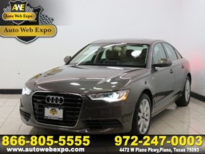 2014 Audi A6 30T Premium Plus Carfax 1-Owner - No Accidents  Damage Reported to CARFAX Audio