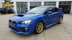 2015 Subaru WRX STI Launch Edition Carfax 1-Owner - No Accidents  Damage Reported to CARFAX Audi