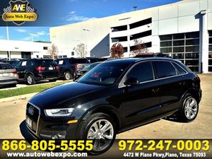 2015 Audi Q3 20T Prestige Carfax 1-Owner - No Accidents  Damage Reported to CARFAX Wheels 85J