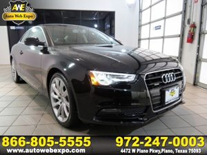 2014 Audi A5 Premium Plus Carfax 1-Owner - No Accidents  Damage Reported to CARFAX Audi Mmi Navi