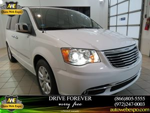 2015 Chrysler Town  Country Limited Platinum Carfax 1-Owner - No Accidents  Damage Reported to C