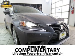 2014 Lexus IS 250  Carfax 1-Owner Brakes  Abs Convenience  Automatic Headlights Convenience