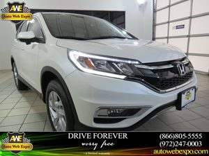 2015 Honda CR-V EX Carfax 1-Owner - No Accidents  Damage Reported to CARFAX  Offwhite  Normal