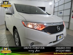 2013 Nissan Quest SV Carfax 1-Owner - No Accidents  Damage Reported to CARFAX  White Pearl  N