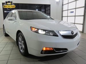 2012 Acura TL Tech Auto Carfax Report - No Accidents  Damage Reported to CARFAX Audio  AmFm St
