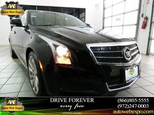 2013 Cadillac ATS Luxury Carfax 1-Owner Audio  AmFm Stereo Audio  Hd Radio Audio  Mp3 Playe