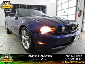 2011 Ford Mustang GT Carfax 1-Owner - No Accidents  Damage Reported to CARFAX Aluminum Pedal Cov