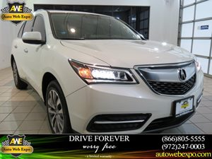 2015 Acura MDX Tech Pkg Carfax 1-Owner - No Accidents  Damage Reported to CARFAX Audio  AmFm S