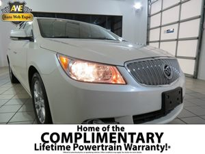 2012 Buick LaCrosse Premium 1 Carfax Report - No Accidents  Damage Reported to CARFAX Audio  Am