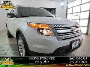 2013 Ford Explorer XLT Carfax 1-Owner - No Accidents  Damage Reported to CARFAX 5050 Split-Fold
