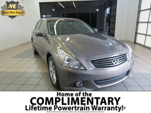 2012 Infiniti G37 Sedan x Carfax 1-Owner Audio  AmFm Stereo Audio  Auxiliary Audio Input Aud