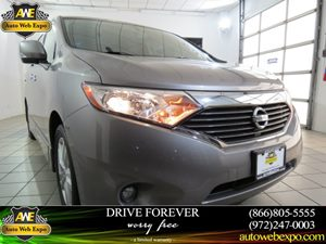 2012 Nissan Quest SL Carfax 1-Owner - No Accidents  Damage Reported to CARFAX Audio  AmFm Ster