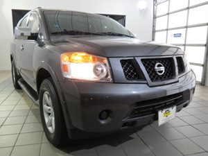 2012 Nissan Armada SV Carfax Report - No Accidents  Damage Reported to CARFAX Audio  AmFm Ster