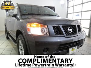 2012 Nissan Armada SV Carfax Report - No AccidentsDamage Reported Audio  AmFm Stereo Audio