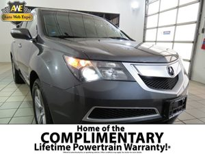 2010 Acura MDX Technology Pkg Carfax Report - No AccidentsDamage Reported 3Rd Row 5050 Split Fo