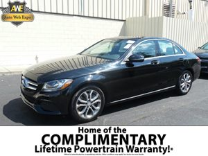 2016 MERCEDES C-Class Sedan Carfax 1-Owner - No Accidents  Damage Reported to CARFAX  Black