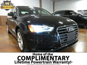 2016 Audi A3 18T Premium Carfax 1-Owner - No AccidentsDamage Reported Audio  AmFm Stereo Aud