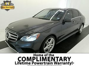 2014 MERCEDES E-Class Sport Sedan Carfax 1-Owner - No Accidents  Damage Reported to CARFAX  Pa