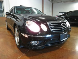 2009 MERCEDES E-Class 4MATIC Luxury Sedan Carfax Report  Black  Waited Too Long Worried you m