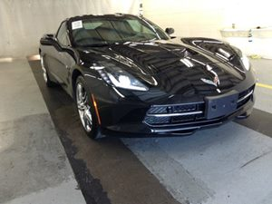 2016 Chevrolet Corvette 3LT Carfax 1-Owner - No Accidents  Damage Reported to CARFAX  Black