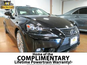 2015 Lexus IS 250  Carfax 1-Owner - No AccidentsDamage Reported 60-40 Folding Bench Front Facing