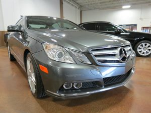 2011 MERCEDES E-Class Coupe Carfax Report - No AccidentsDamage Reported 4-Way Pwr TiltTelescopi