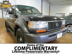 1996 Lexus LX 450 SUV Carfax Report  Black  All advertised prices exclude government fees and