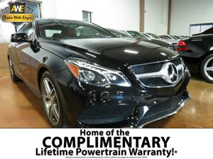2016 MERCEDES E-Class Coupe Carfax 1-Owner - No Accidents  Damage Reported to CARFAX  Black