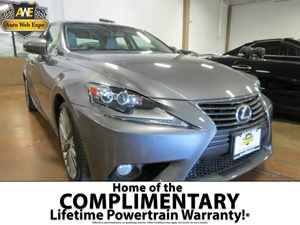 2014 Lexus IS 250  Carfax 1-Owner 60-40 Folding Bench Front Facing Fold Forward Seatback Rear Sea