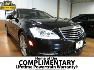 2012 MERCEDES S-Class Sedan Carfax Report - No Accidents  Damage Reported to CARFAX  Black  A