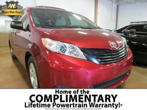 2011 Toyota Sienna  Carfax Report - No Accidents  Damage Reported to CARFAX  Salsa Red Pearl