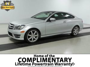 2013 MERCEDES C-Class Coupe Carfax 1-Owner - No Accidents  Damage Reported to CARFAX  Black