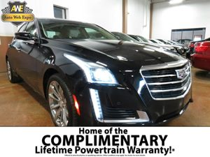 2016 Cadillac CTS Sedan Premium Collection AWD Carfax 1-Owner - No AccidentsDamage Reported Audi