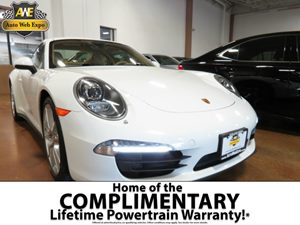 2013 Porsche 911 S Carfax 1-Owner - No AccidentsDamage Reported  White  All advertised prices