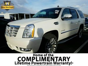 2014 Cadillac Escalade Luxury Carfax 1-Owner - No Accidents  Damage Reported to CARFAX  White