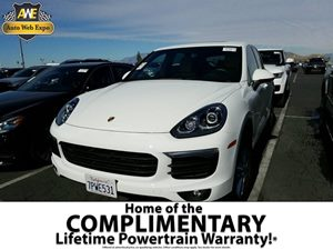 2016 Porsche Cayenne  Carfax 1-Owner - No Accidents  Damage Reported to CARFAX  White - All