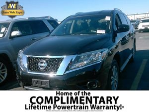 2013 Nissan Pathfinder SV Carfax Report  Super Black  Looking for a low-mileage pristine vehi