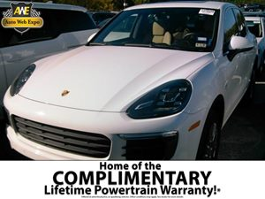 2015 Porsche Cayenne Diesel Carfax 1-Owner - No Accidents  Damage Reported to CARFAX  White