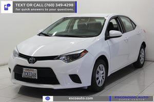 View 2014 Toyota Corolla
