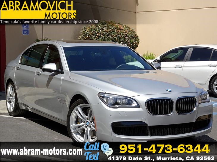 Used 2014 BMW 7 Series 750Li M SPORT