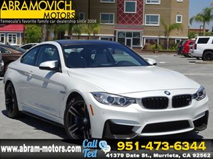 View 2015 BMW M4 - 1 OWNER - LEASE RETURN - EXECUTIVE PKG -
