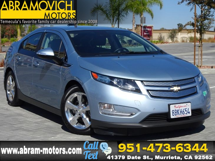 Sold 2015 Chevrolet Volt Safety Pkg 2 Navigation Lease Return