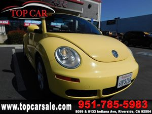 View 2007 Volkswagen New Beetle Convertible
