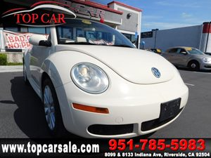 View 2008 Volkswagen New Beetle Convertible
