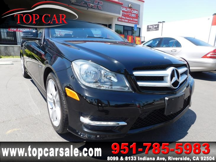 Sold 2012 Mercedes Benz C 250 Coupe In Riverside