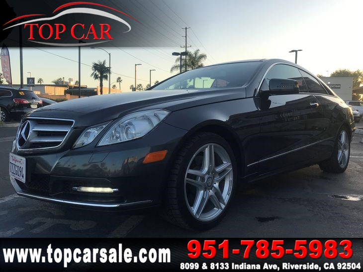 2013 Mercedes-Benz E 350 Coupe