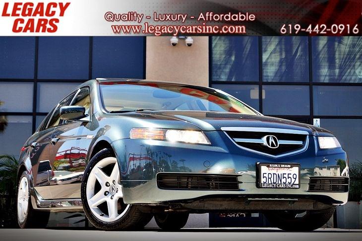Sold Acura TL WNavigation In El Cajon - 2005 acura tl navigation